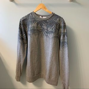 ✨HOST PICK✨ Topman Palm Leaves Crewneck Sweatshirt
